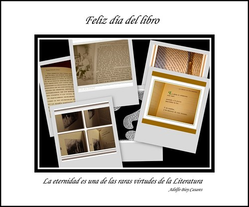 Feliz Día del Libro. Feliz Sant Jordi
