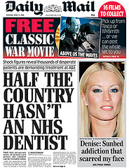 Daily Mail's dubious claim about NHS dentistry