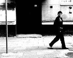 Woman going black (Lashelis) Tags: white black doors move ne sidewalk step vilnius ne6 ne4 ne5 ne2 ne3 taip2 taip5 taip10 taip3 taip1 taip4 taip6 taip8 taip9 fotofiltroauksas lashelis taip7arunass