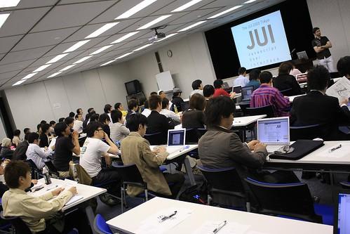 JUI Tokyo 2008 開演前の風景 3