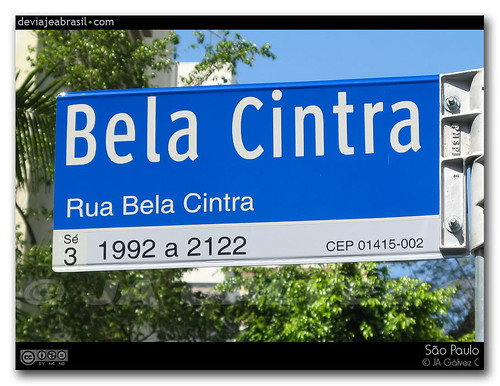 street sign / placa