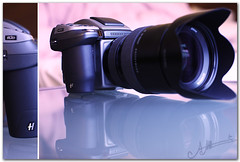 My  Weapon !! (A.A.A) Tags: camera blue 3 love digital canon photography mark iii atmosphere best hasselblad weapon aaa eternal amna irresistible eos1ds althani h3d 39mp canoneos1dsmarkiii amnaaalthani h3d39ll