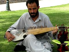 rabaab guy VIDEO! (leenient) Tags: pakistan music man video guitar traditional islamabad rabaab