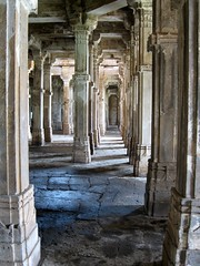 Perspective in Jama Masjid, Champaner (ameen.z) Tags: blue light shadow india architecture grandmother columns perspective thumbsup pillars lightandshadow gujarat bigmomma champaner challengeyouwinner 3waychallengewinner flickrchallengegroup photofaceoffwinner photofaceoffplatinum thechallengegame challengegamewinner pfogold pfoplatinum thechallengefactory fotocompetition fotocompetitionbronze fotocompetitionsilver motmfeb09