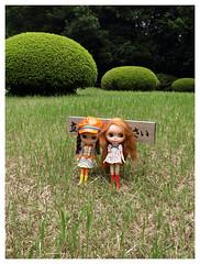 Delia & Winnifred @ Meiji Jingu Gyoen