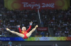 He Kexin (nataliebehring.com) Tags: china sports girl sport female child beijing competition age chinadigitaltimes athlete beijing2008 liar olymics dispute chinesegirl unevenbars younggymnast gmnastics hekexin onlymic chineselie