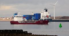 Ships of the Mersey - Oraholm & Sara Borchard (sab89) Tags: ships mersey oraholm sara borchard chemical ship container river seaforth gladstone
