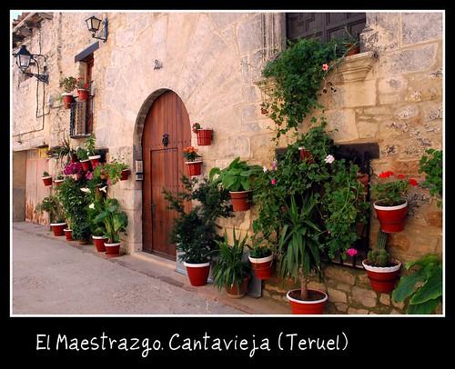El Maestrazgo. Cantavieja (Teruel).