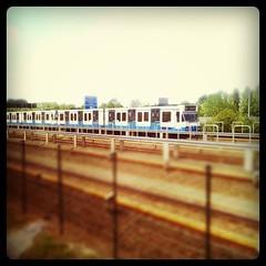 Onderweg van school naar Schiphol
