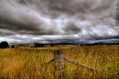 Overcast over a farmland [Explored] (saahmadbulbul) Tags: wales nsw newsouthwales