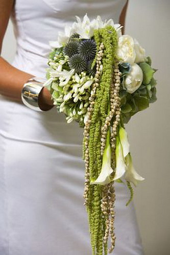 cascading wedding bouquet 3