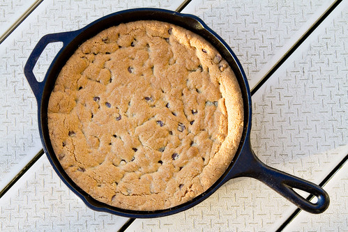 Cast Iron Skillet Chocolate Chip Cookie - 6