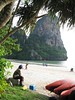 Railay beach Krabbi Thailand - 132