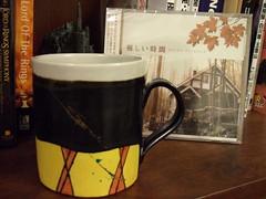 【優しい時間】溫柔時光咖啡杯(拓郎のマグカップ) & 原聲帶