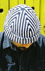 knitty short row hat