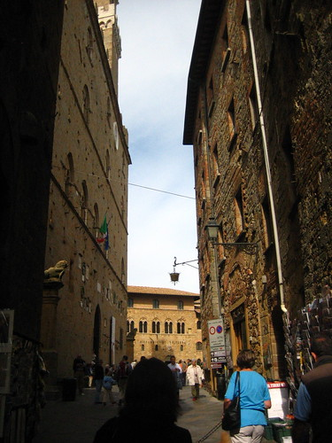 Narrow streets of Volterra