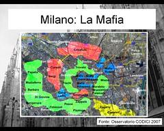 Mappa mafia Milano