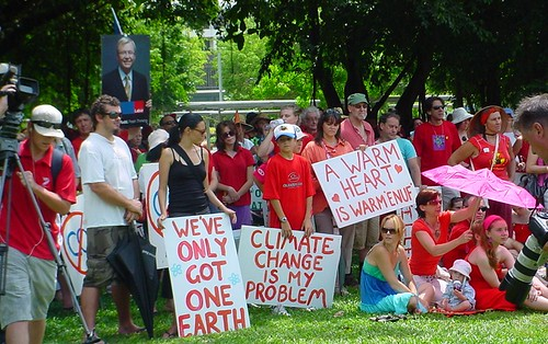 Walk Against Warming Cairns 2007 / photo #11