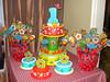 cowboy birthday cake (pink_apron) Tags: birthday cake cowboy first novelty western sheriff firstbirthday bandana customcake