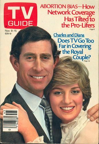 Tv Guia Príncipe Carlos y la Princesa Diana