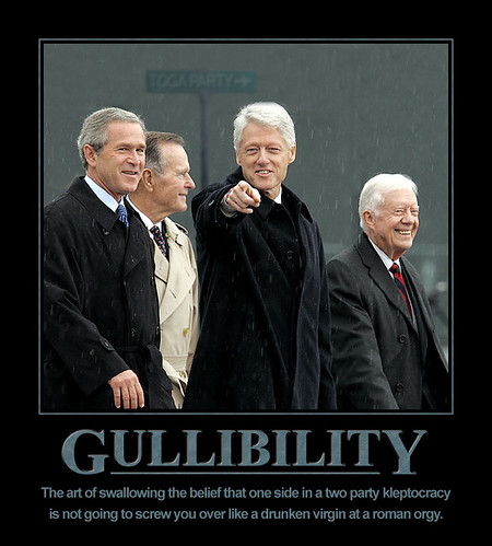 Demotivational: Gullibility
