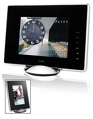 Ality Pixxa 8-Inch LCD Photo Frame with 512MB Memory