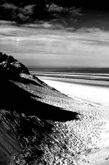 dune at formby - england (~ paddypix ~) Tags: sea blackandwhite nature photoshop shoreline contrasty specialeffects moodyblues bwdreams ukandireland scenicsnotjustlandscapes