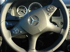 Steering wheel (individual8) Tags: germany december mercedesbenz speedo speedometer steeringwheel 2007 c180