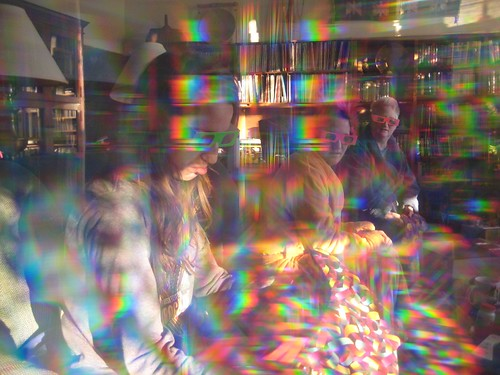 Christmas through the rainbow goggles