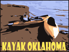 Kayak Oklahoma Logo by FreeWine