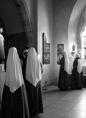 Visit of the Sisters of Our Lord and the Virgin of Matara (Trish Mayo) Tags: newyork award nuns cloisters metropolitanmuseumofart washingtonheights bwart sistersofthelordandthevirginofmatara