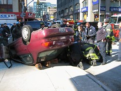 Car Accident - OOPS!  4 (buff_wannabe) Tags: accident nypd oops fdny caraccident flashinglights carstop nypdesu