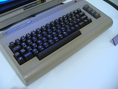 Commodore 64 close up