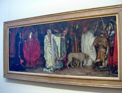 """King Lear,"" act I, scene I by Edwin Austin Abby (peterjr1961) Tags: nyc newyorkcity newyork art museum american met themet metropolitanmuseumofart"