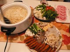 壽喜燒材料