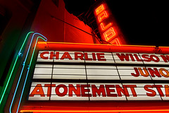 Movie Theater (Kurt Preissler) Tags: sanfrancisco california movie theater neon theatre palace pch highway1 bayarea movietheatre movietheater canoneos5d kurtpreissler preisslermediaservices