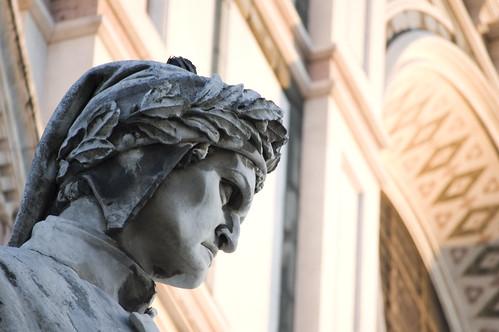 Dante in S.Croce, Firenze