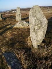 Calanais 3 standing stones