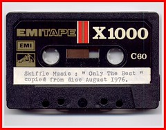 Audio Cassette EMITAPE X1000 C60 (Lenton Sands) Tags: music logo cassette audio emi hmv hometaping emitapex1000