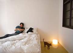 2:36 pm, Today, My Bedroom (yusheng) Tags: bear selfportrait topf25 bed bedroom narcissism topv3333 yusheng cotcmostinteresting interestingness258 i500 galleried