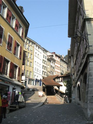 Lausanne's Old Town (1)