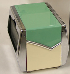 "restored turquoise white diner napkin dispenser SOLD • <a style=""font-size:0.8em;"" href=""http://www.flickr.com/photos/85572005@N00/2311260851/"" target=""_blank"">View on Flickr</a>"