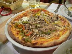 Pizza at L'Osteria di Oreste, Geneva