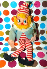 Dakin Clown Elf Doll