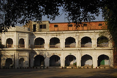 The Anglo Arabic School at Ajmeri Gate (sanjayausta) Tags: new old city india building heritage history monument architecture ancient gate asia delhi muslim islam culture arches historical sanjay islamic shah walled antiquity jahan mughal austa ajmeri shahjanabad