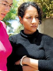 Mujer policía narcotraficante