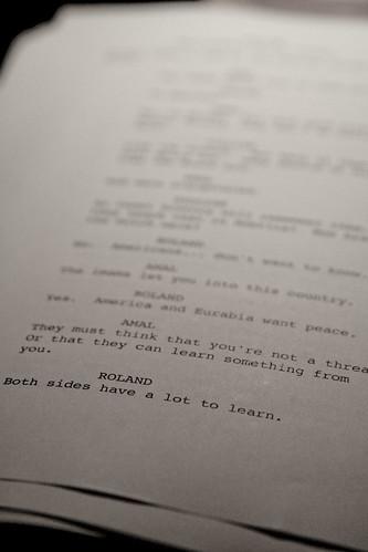 Eurabia screenplay par Joe in DC