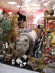 Sarris Candy Shop Official Stuffed Animal Wildlife Preserve (neshachan) Tags: candy chocolate plushies stuffedanimals giraffe stuffedtoys candystore pandas sarris chocolatefactory canonsburg candyfactory candyshop plushtoys chocolatestore canonsburgpa rinocerous sarriscandy sarrischocolate