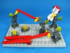 The gang (Karf Oohlu) Tags: construction lego wip constructionworkers constructionequipment microscale microspacetopia