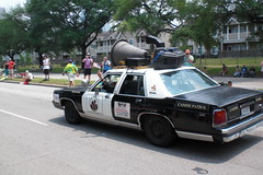 Blues mobile! (patti_rose) Tags: houston artcarparade 2008artcarparade